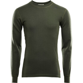 Aclima WarmWool T-shirt Manches longues Col ras-du-cou Homme, olive night